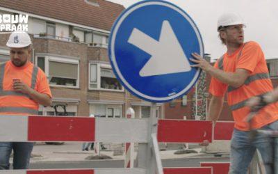 Wespen en wielrenners: Bouwspraak, voor een veiligere bouwplaats