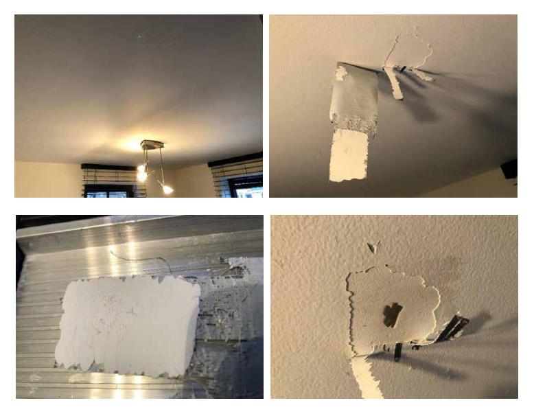 Toch niet weer scheurtjes in het plafond